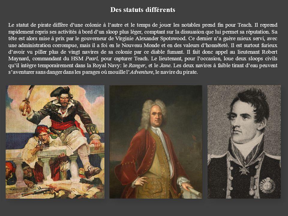Des statuts différents