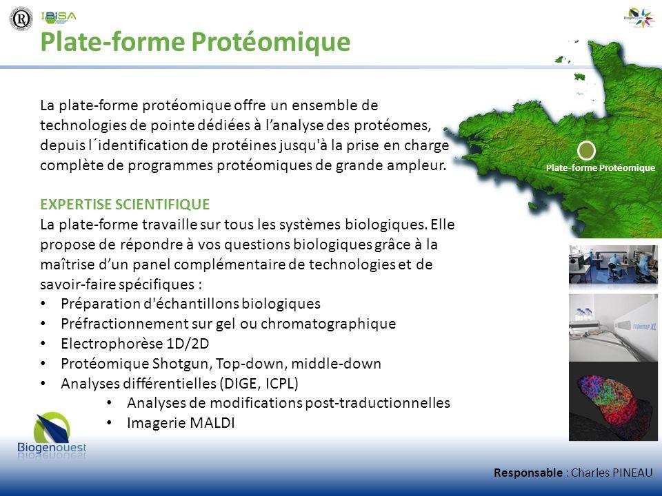 Plate-forme Protéomique
