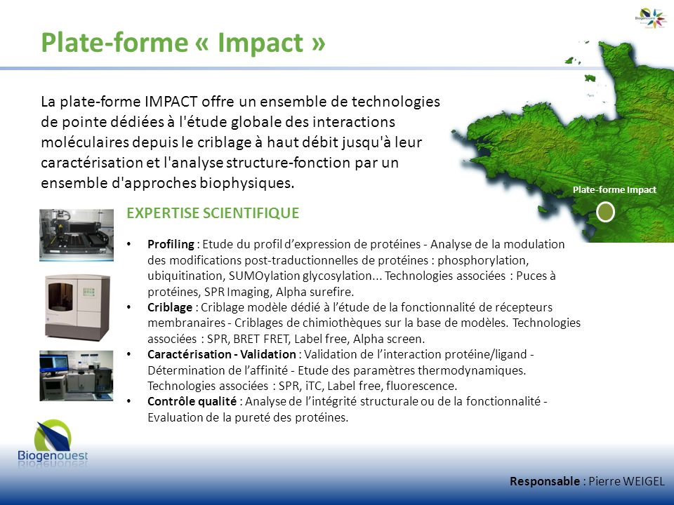 Plate-forme « Impact »