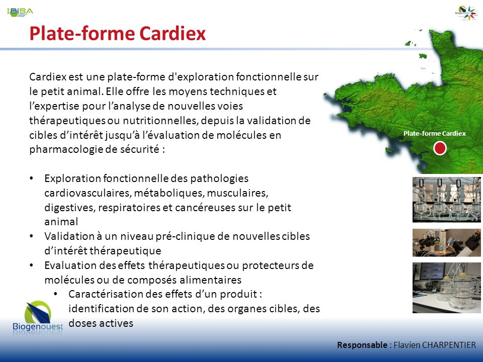 Plate-forme Cardiex