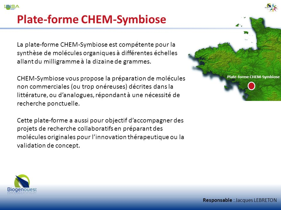 Plate-forme CHEM-Symbiose