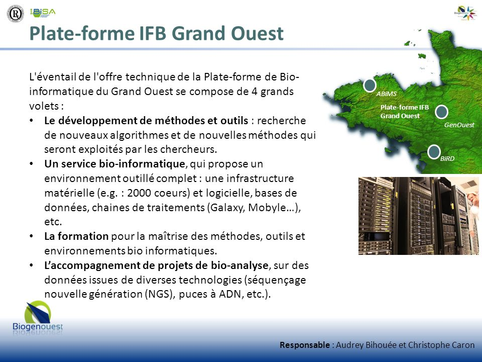 Plate-forme IFB Grand Ouest