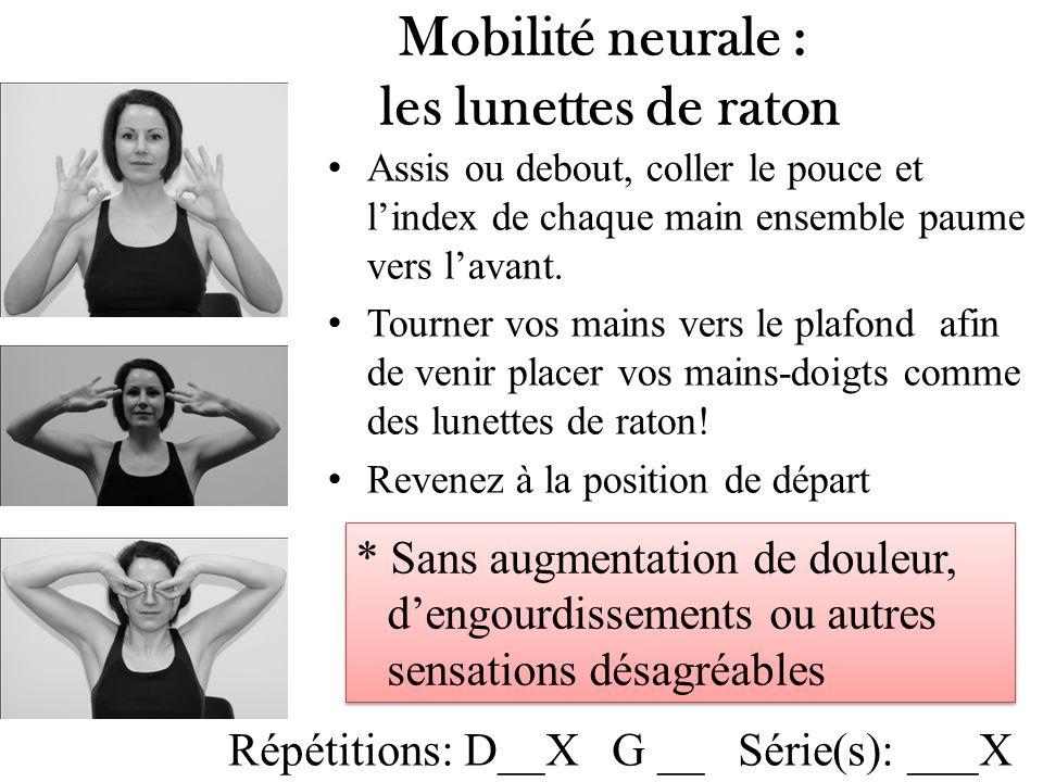 Mobilité neurale : les lunettes de raton