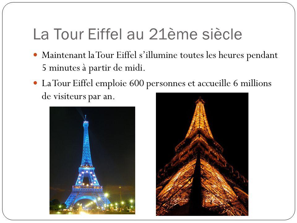 La Tour Eiffel au 21ème siècle
