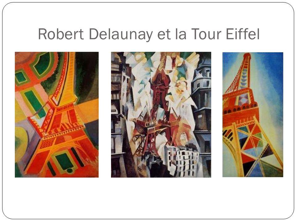 Robert Delaunay et la Tour Eiffel