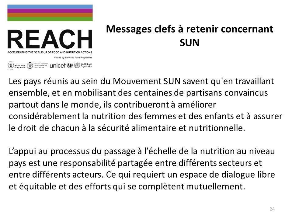Messages clefs à retenir concernant SUN