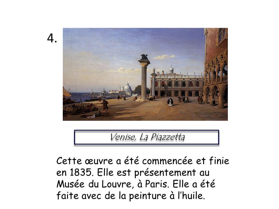 4. Venise, La Piazzetta.