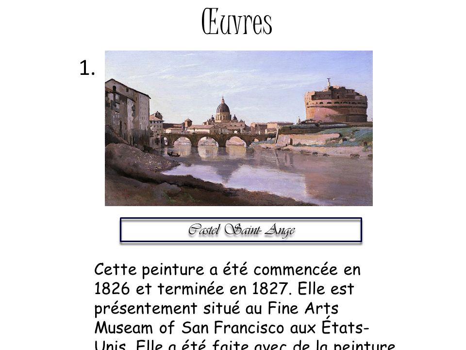 Œuvres 1. Castel Saint- Ange.