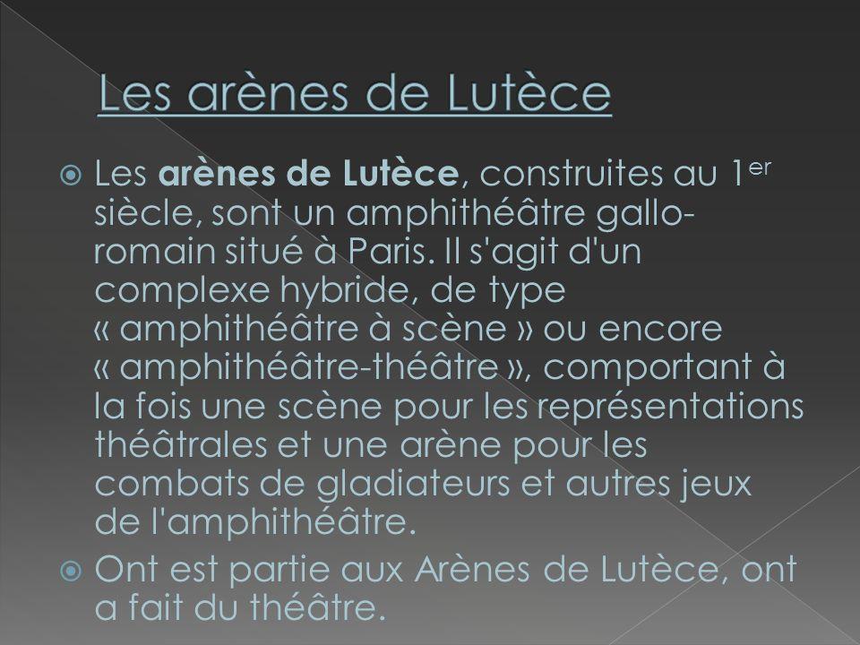 Les arènes de Lutèce
