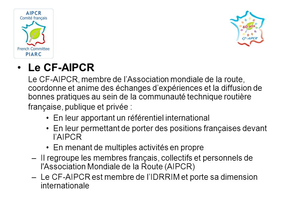 Le CF-AIPCR