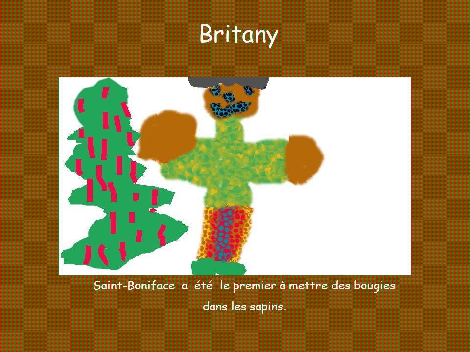 Saint-Boniface a été le premier à mettre des bougies