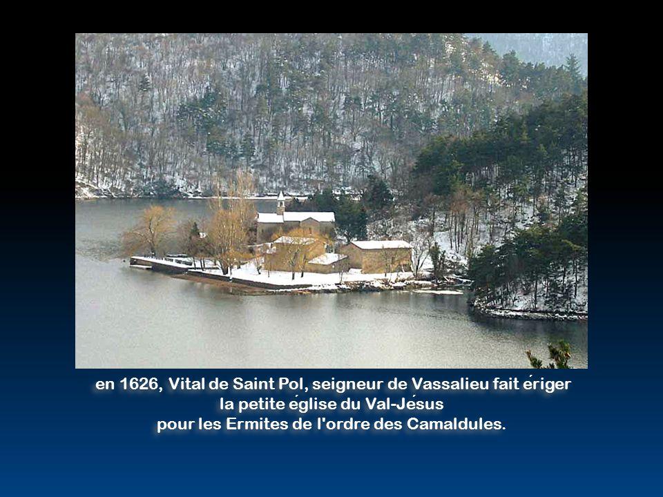 en 1626, Vital de Saint Pol, seigneur de Vassalieu fait ériger