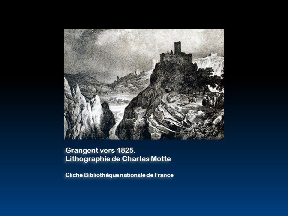 Lithographie de Charles Motte