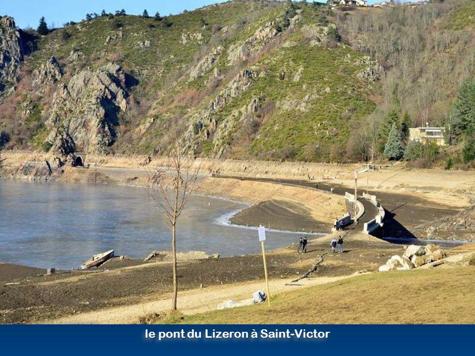 le pont du Lizeron à Saint-Victor