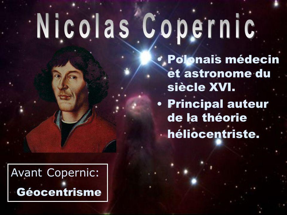 Nicolas Copernic Polonais médecin et astronome du siècle XVI.