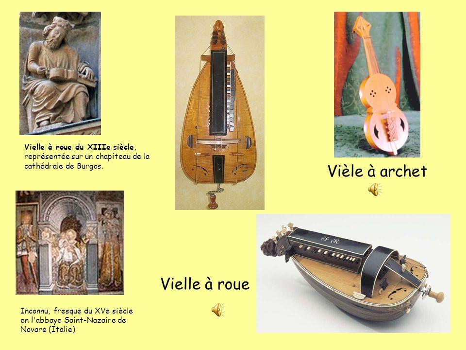 Vièle à archet Vielle à roue