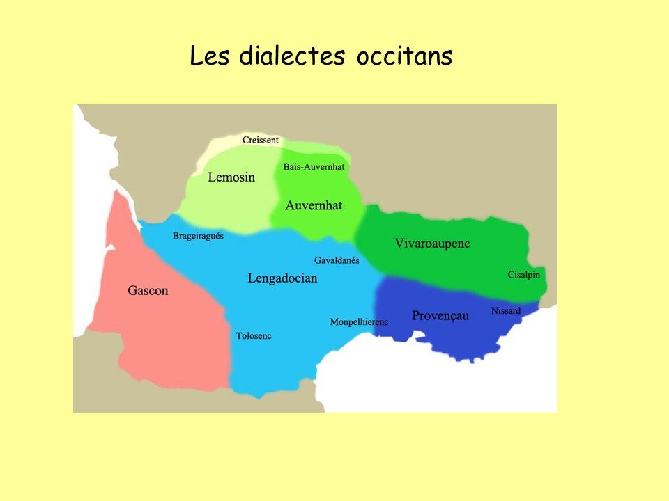 Les dialectes occitans