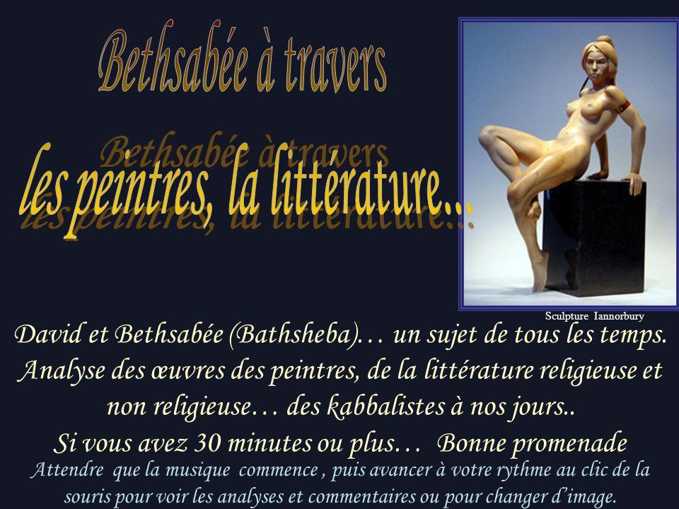 les peintres, la littérature...