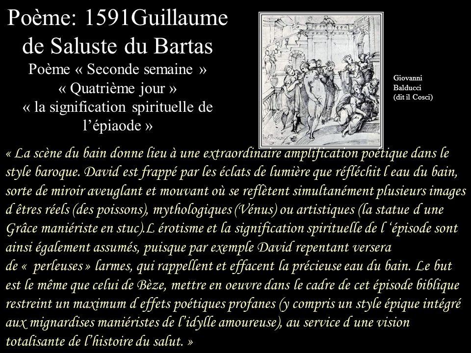 Poème: 1591Guillaume de Saluste du Bartas