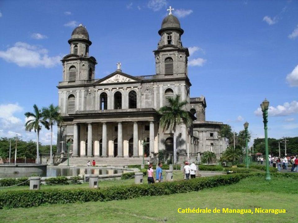 Cathédrale de Managua, Nicaragua