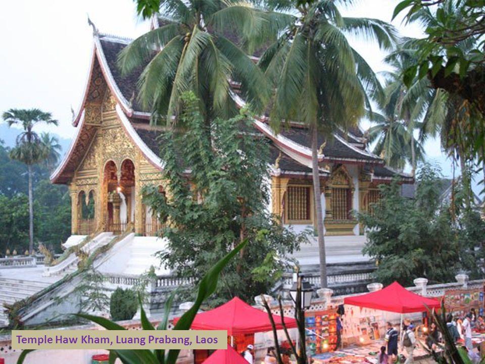 Temple Haw Kham, Luang Prabang, Laos