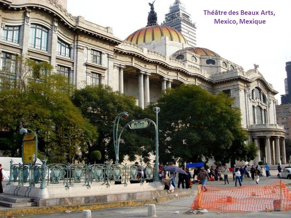 Théâtre des Beaux Arts, Mexico, Mexique