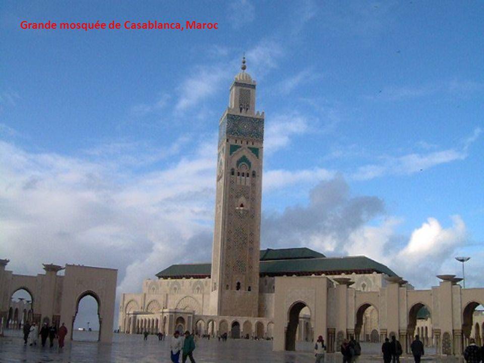 Grande mosquée de Casablanca, Maroc