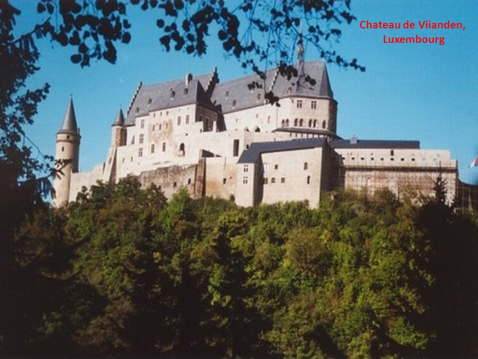 Chateau de Viianden, Luxembourg