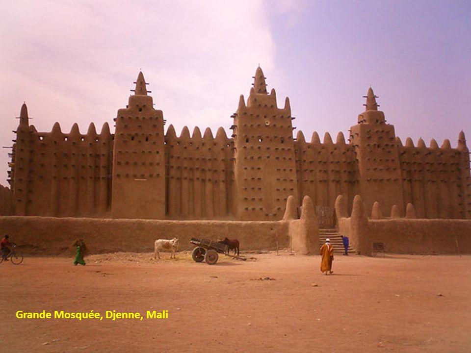 Grande Mosquée, Djenne, Mali