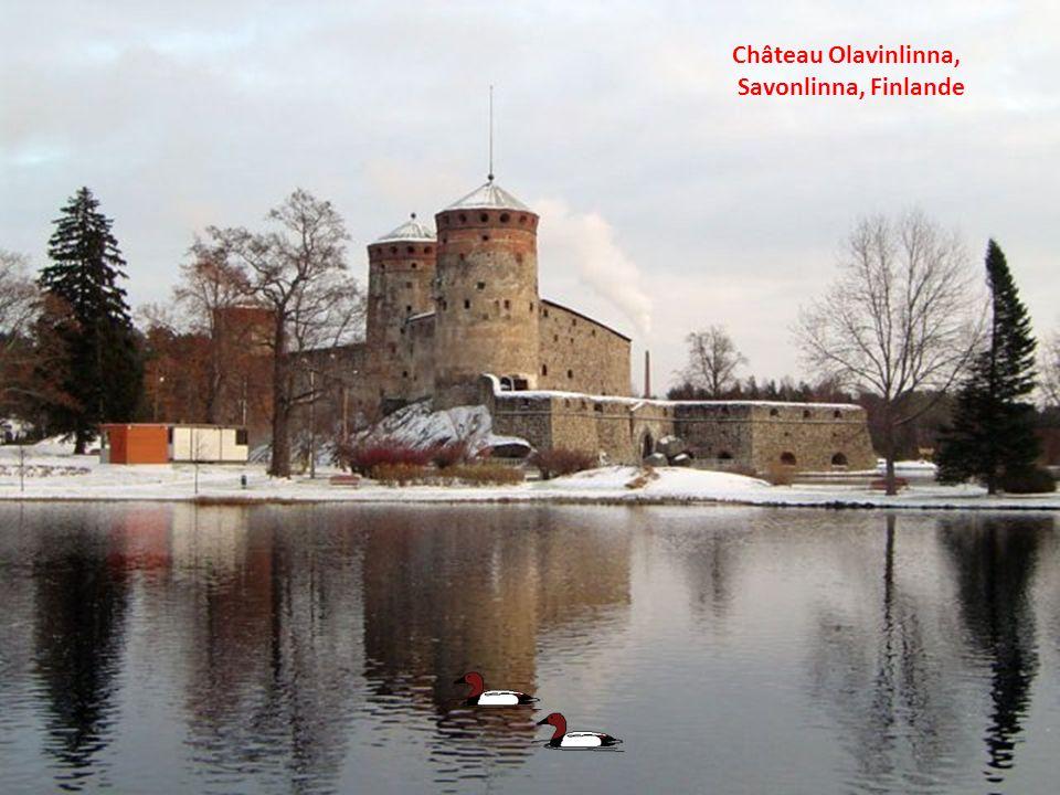 Château Olavinlinna, Savonlinna, Finlande