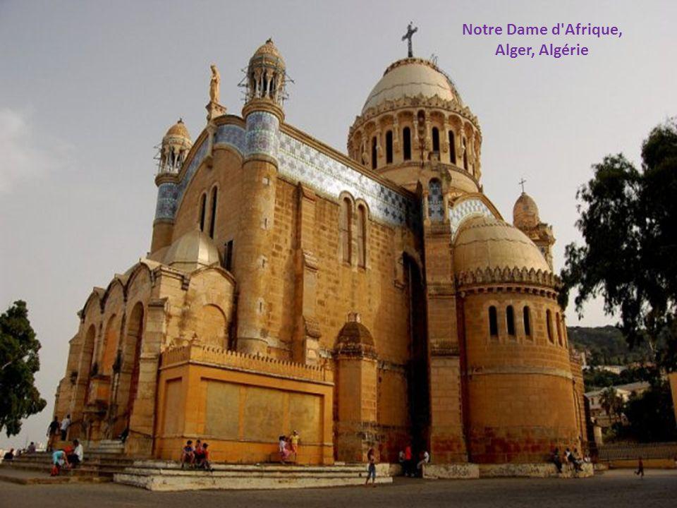 Notre Dame d Afrique, Alger, Algérie