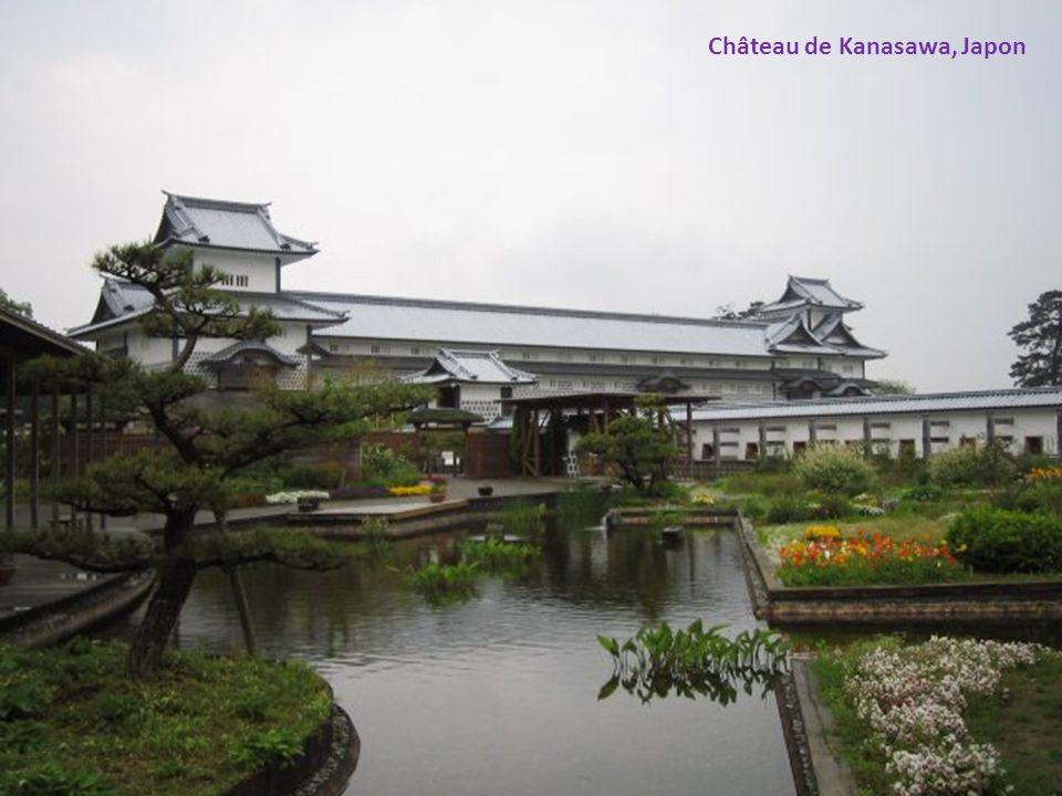 Château de Kanasawa, Japon