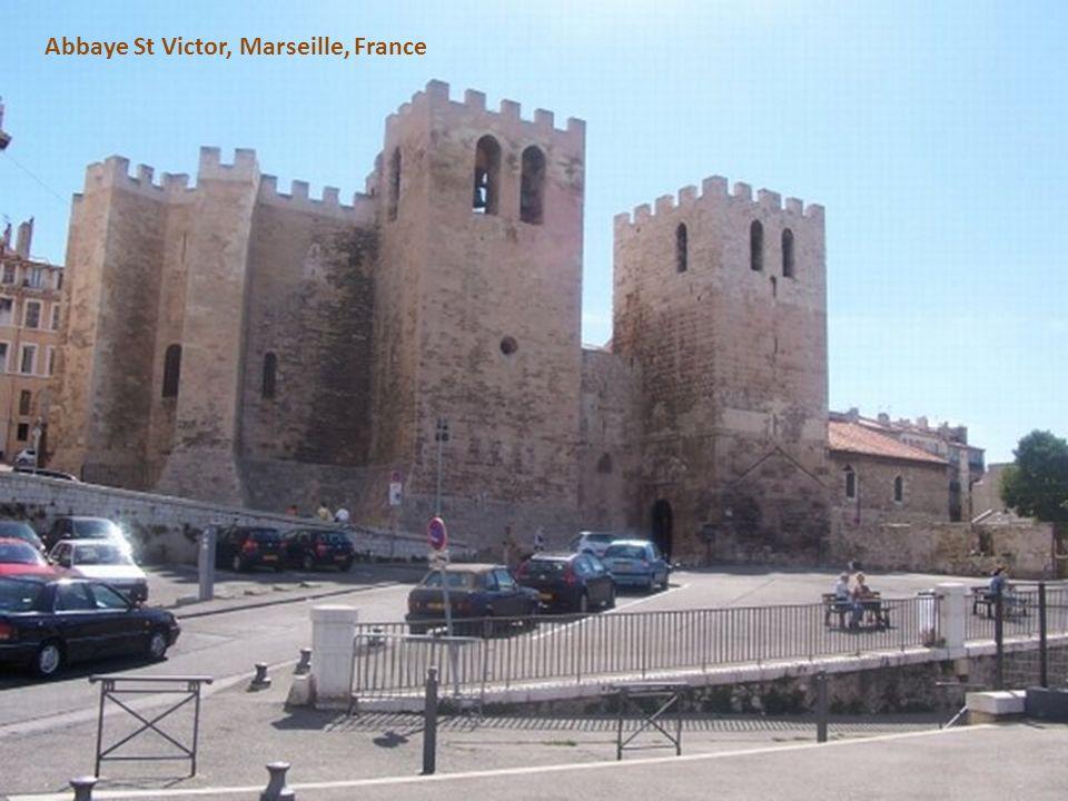 Abbaye St Victor, Marseille, France