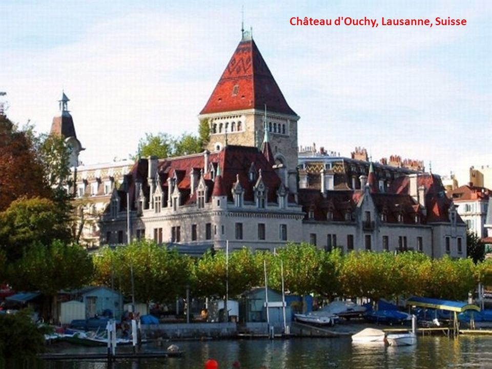 Château d Ouchy, Lausanne, Suisse