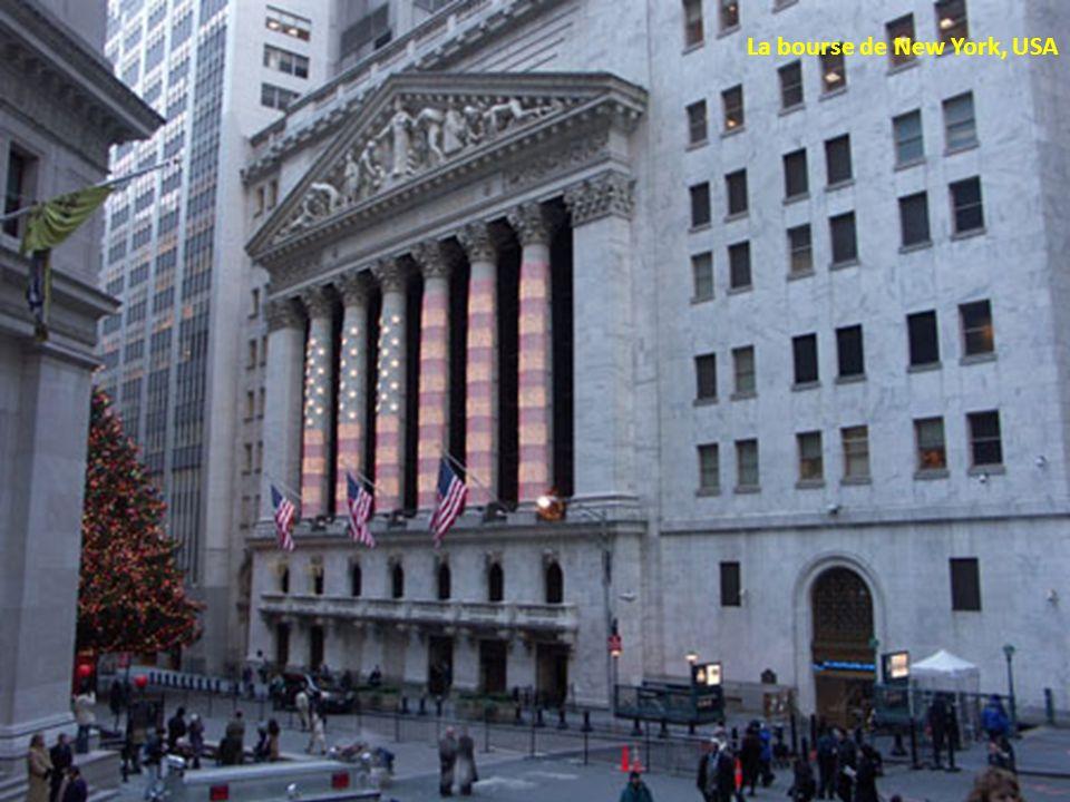 La bourse de New York, USA