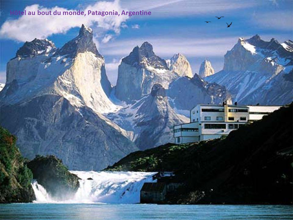 Hôtel au bout du monde, Patagonia, Argentine