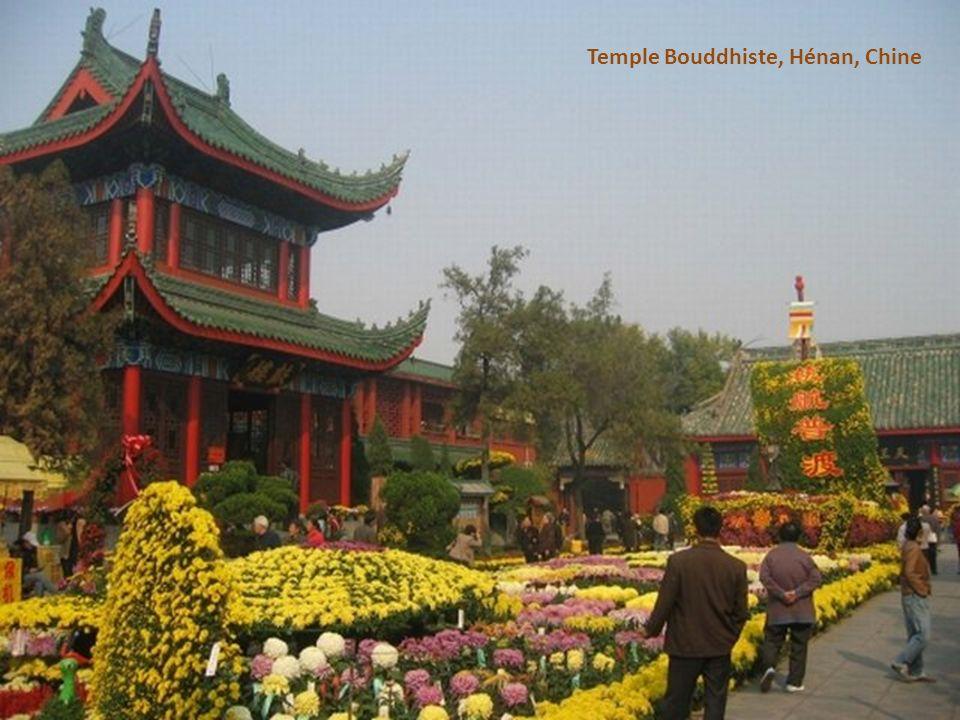 Temple Bouddhiste, Hénan, Chine