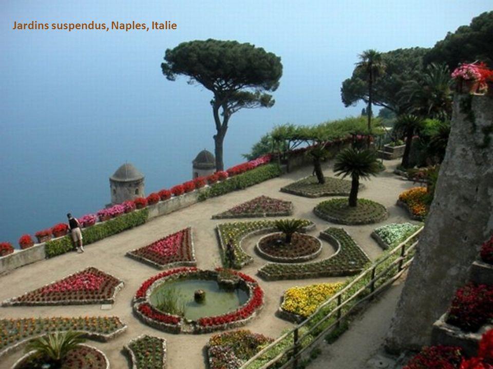 Jardins suspendus, Naples, Italie