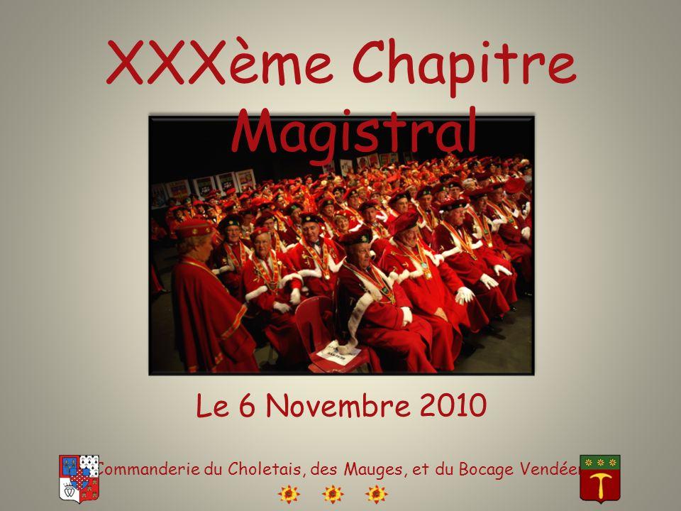 XXXème Chapitre Magistral