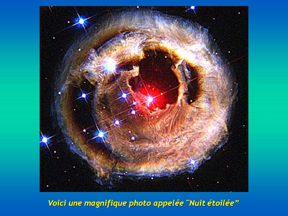 Voici une magnifique photo appelée Nuit étoilée