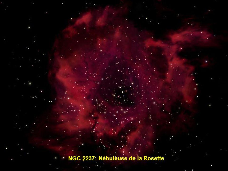 NGC 2237: Nébuleuse de la Rosette