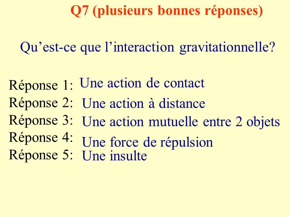 Q7 (plusieurs bonnes réponses)