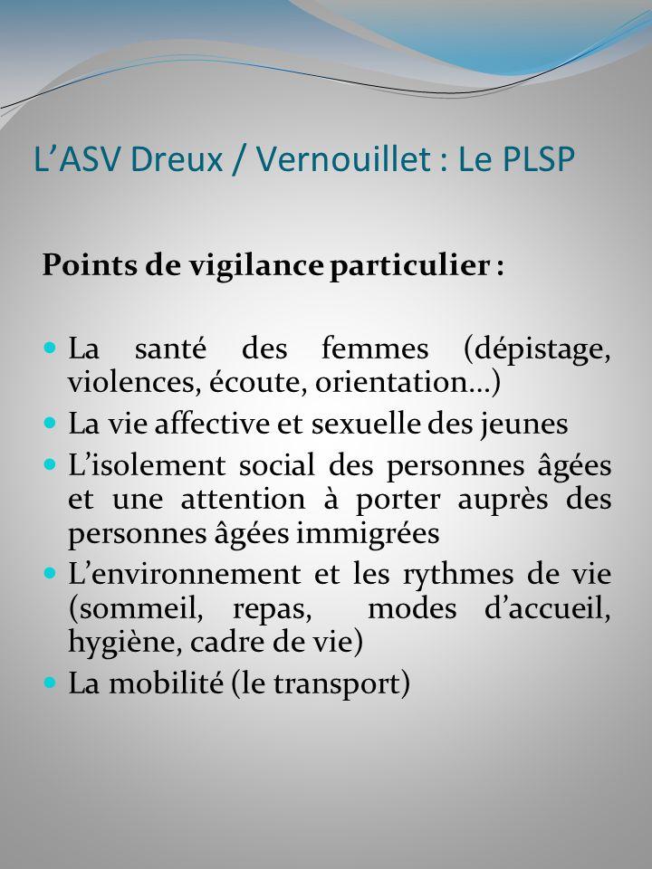 L'ASV Dreux / Vernouillet : Le PLSP