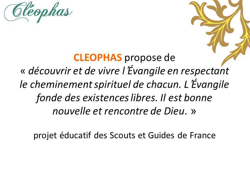 projet éducatif des Scouts et Guides de France