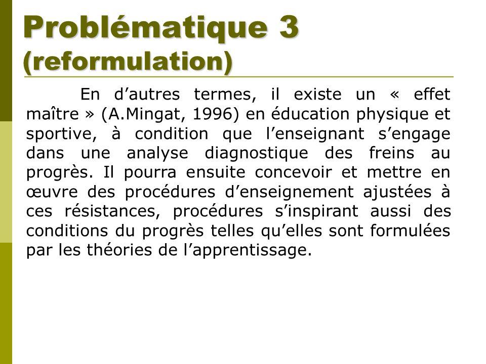 Problématique 3 (reformulation)