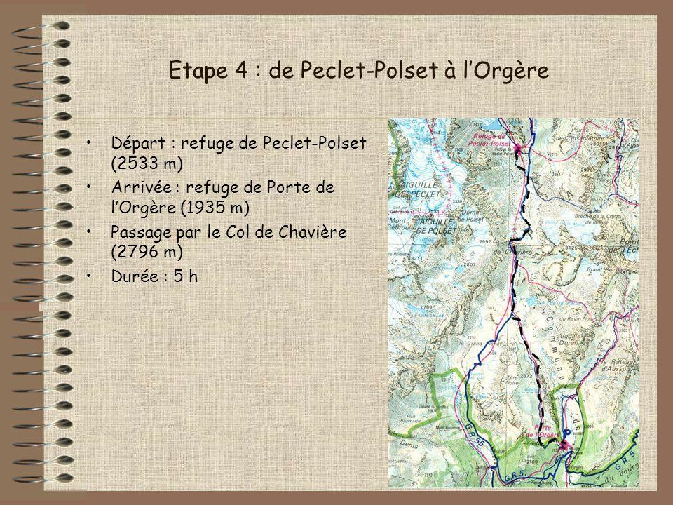 Etape 4 : de Peclet-Polset à l'Orgère