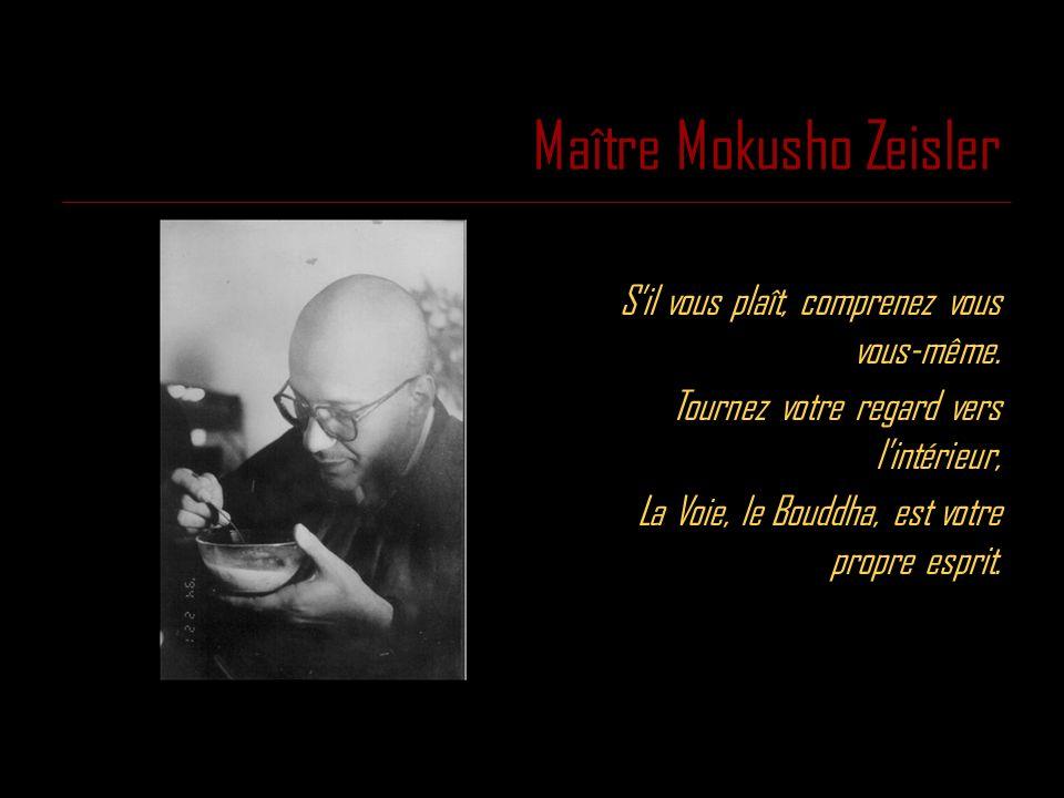 Maître Mokusho Zeisler