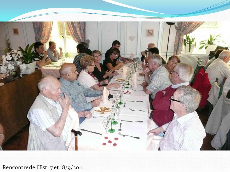 Rencontre de l Est 17 et 18/9/2011