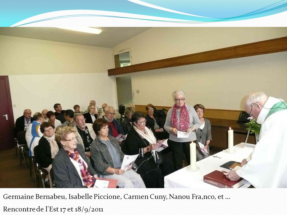 Germaine Bernabeu, Isabelle Piccione, Carmen Cuny, Nanou Fra,nco, et …