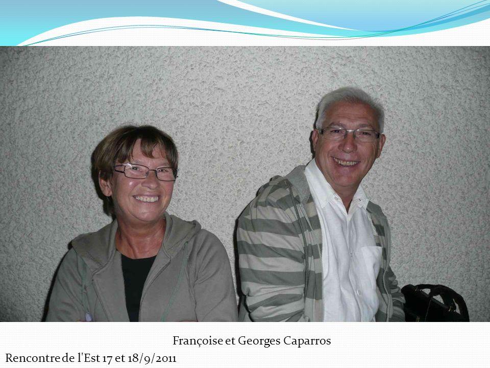 Françoise et Georges Caparros